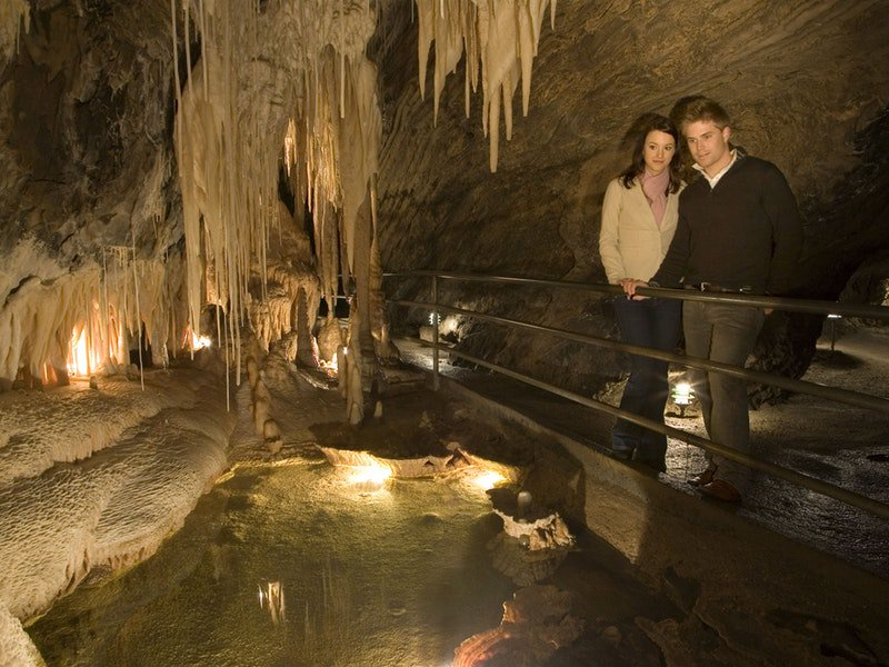 Mole Creek Cave Tour